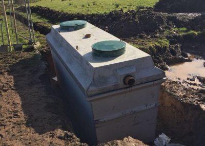 Waste water treatment tanks Northern Ireland