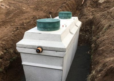 Wastewater treatment tank Ballymena