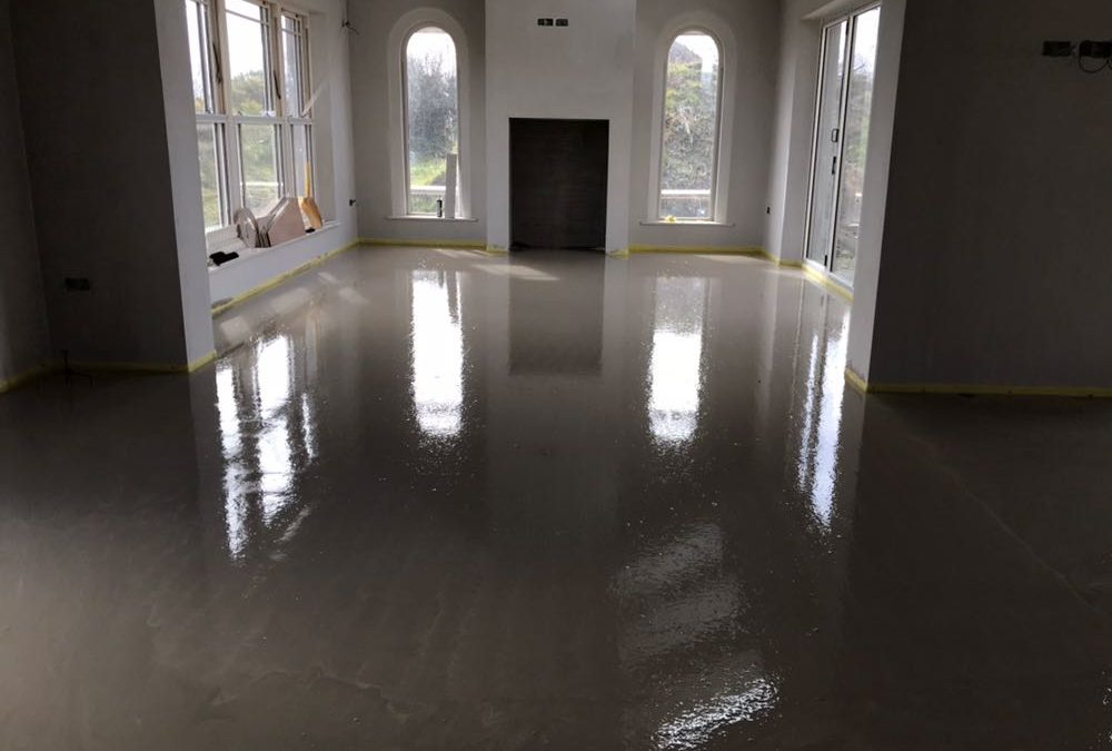 Liquid Floor Screed Northern Ireland