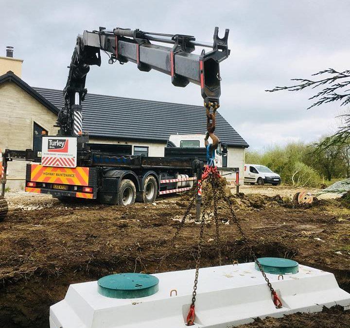 Waste water treatment tanks Dublin